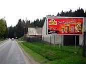 Silnice s billboardem od Vesny Liberec